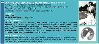 En Villa Victoria del 1º al 7 de septiembre